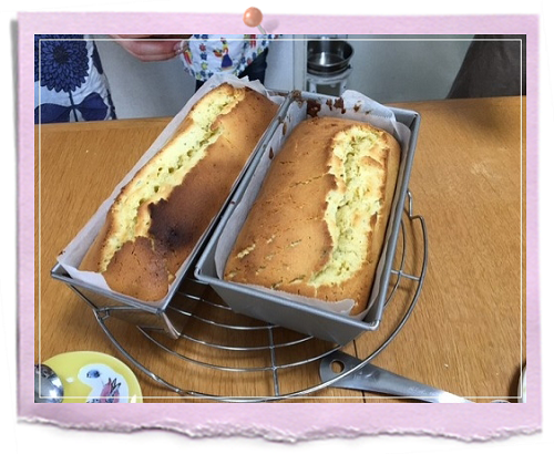 HERBSTORYスイーツLessonパウンドケーキ