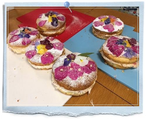 HERBSTORYスイーツLesson2ビクトリアンケーキ