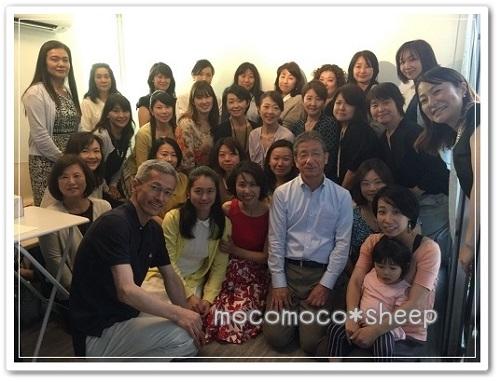 静岡市石けん教室Faire ma vie10周年パーティー記念撮影
