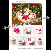 2008 mini cake KIT型紙