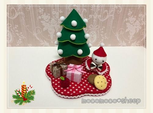 パンチくんの型紙屋さんクリスマスセットその2置物