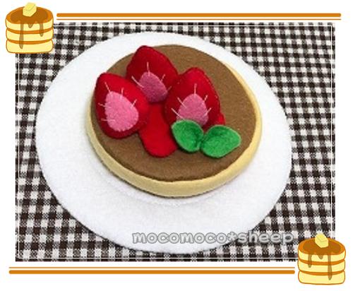 もこもこひつじmocomocosheepmanimanimamagotoホットケーキいちご